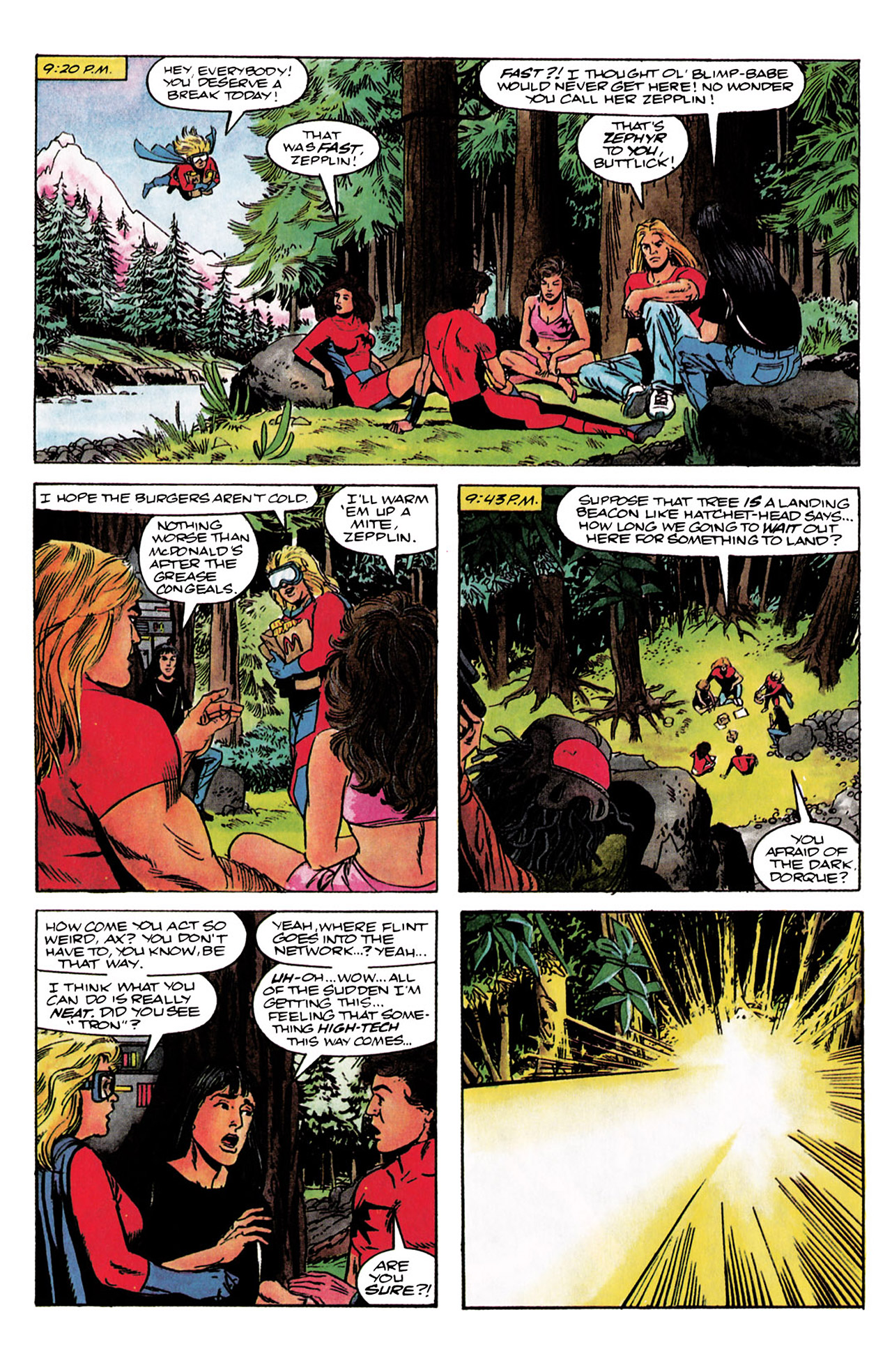 Read online Harbinger (1992) comic -  Issue #3 - 11