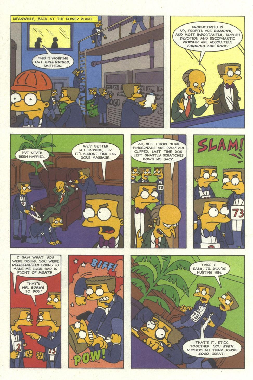 Read online Simpsons Comics comic -  Issue #30 - 7