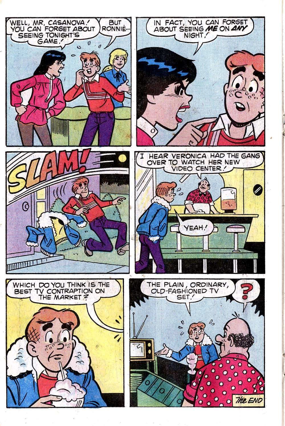 Read online Archie (1960) comic -  Issue #278 - 18