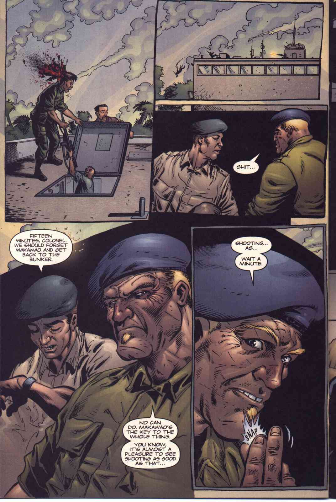 Read online Fury comic -  Issue #5 - 15