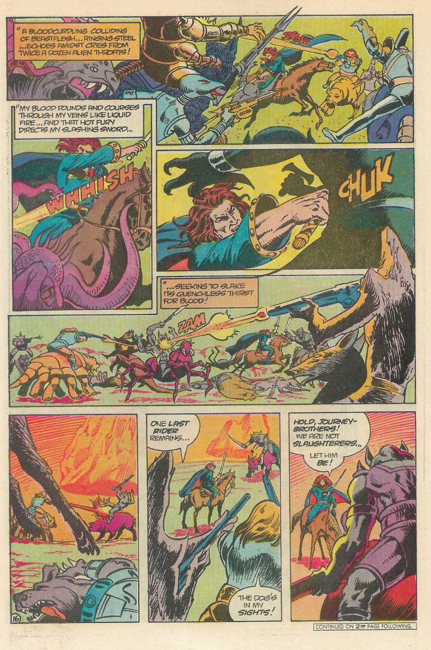 Read online Arion, Lord of Atlantis comic -  Issue #25 - 17