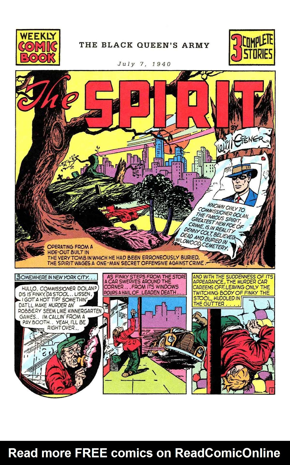 Read online Will Eisner's The Spirit Archives comic -  Issue # TPB 1 (Part 1) - 37