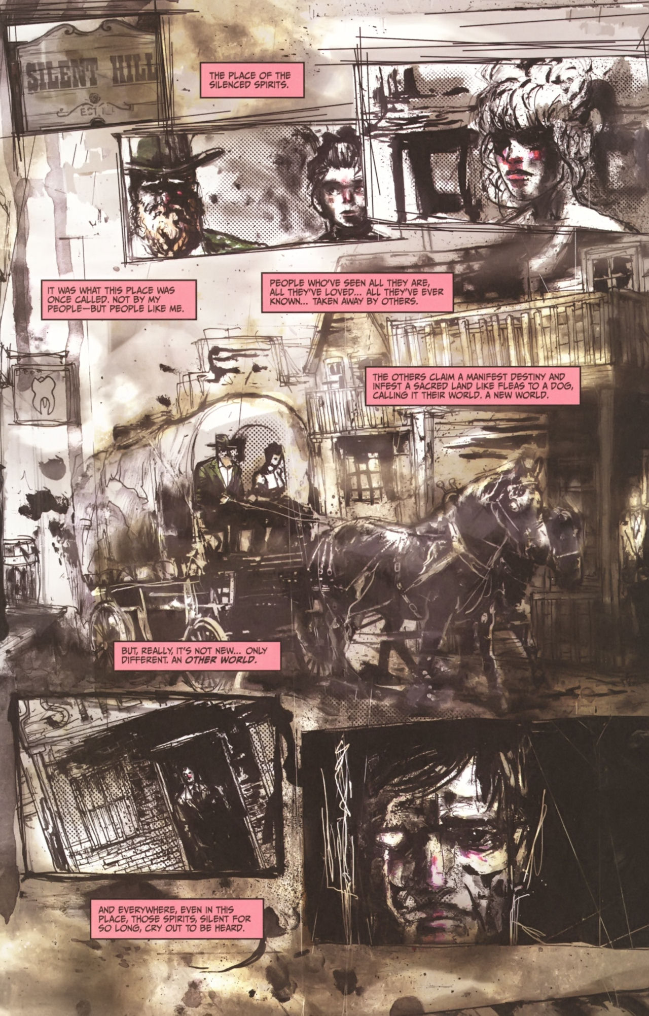 Read online Silent Hill: Past Life comic -  Issue #1 - 10