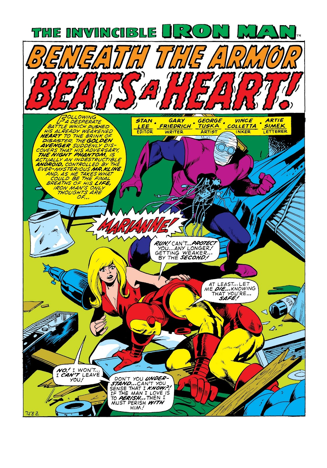 Read online Marvel Masterworks: The Invincible Iron Man comic -  Issue # TPB 8 (Part 2) - 23