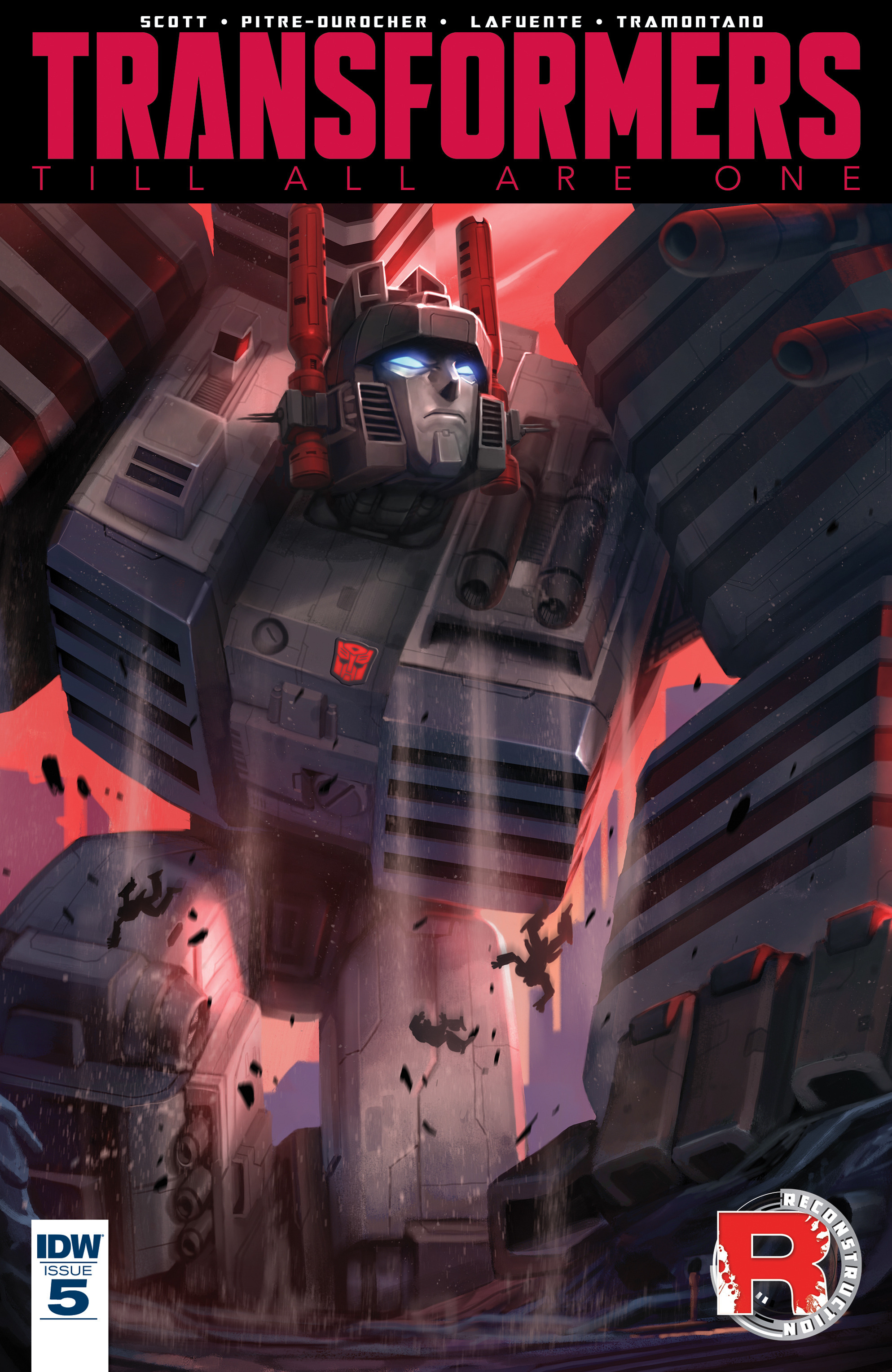 Read online Transformers: Till All Are One comic -  Issue #5 - 1