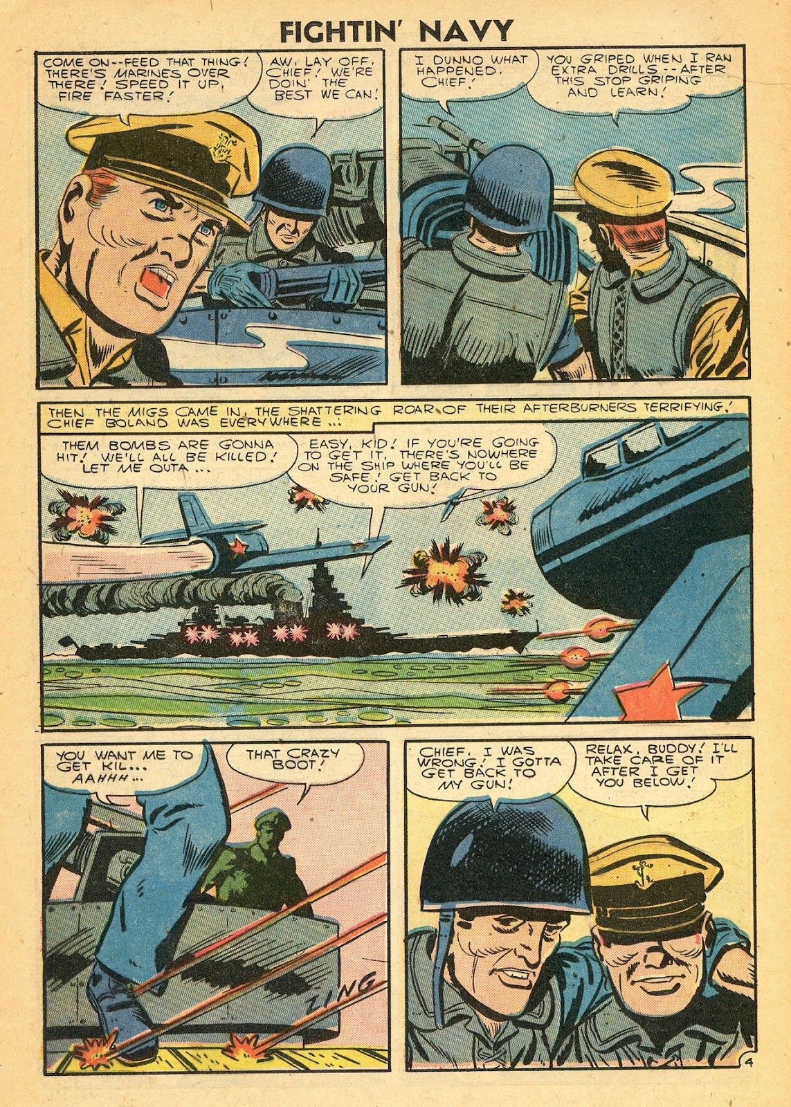 Read online Fightin' Navy comic -  Issue #77 - 13