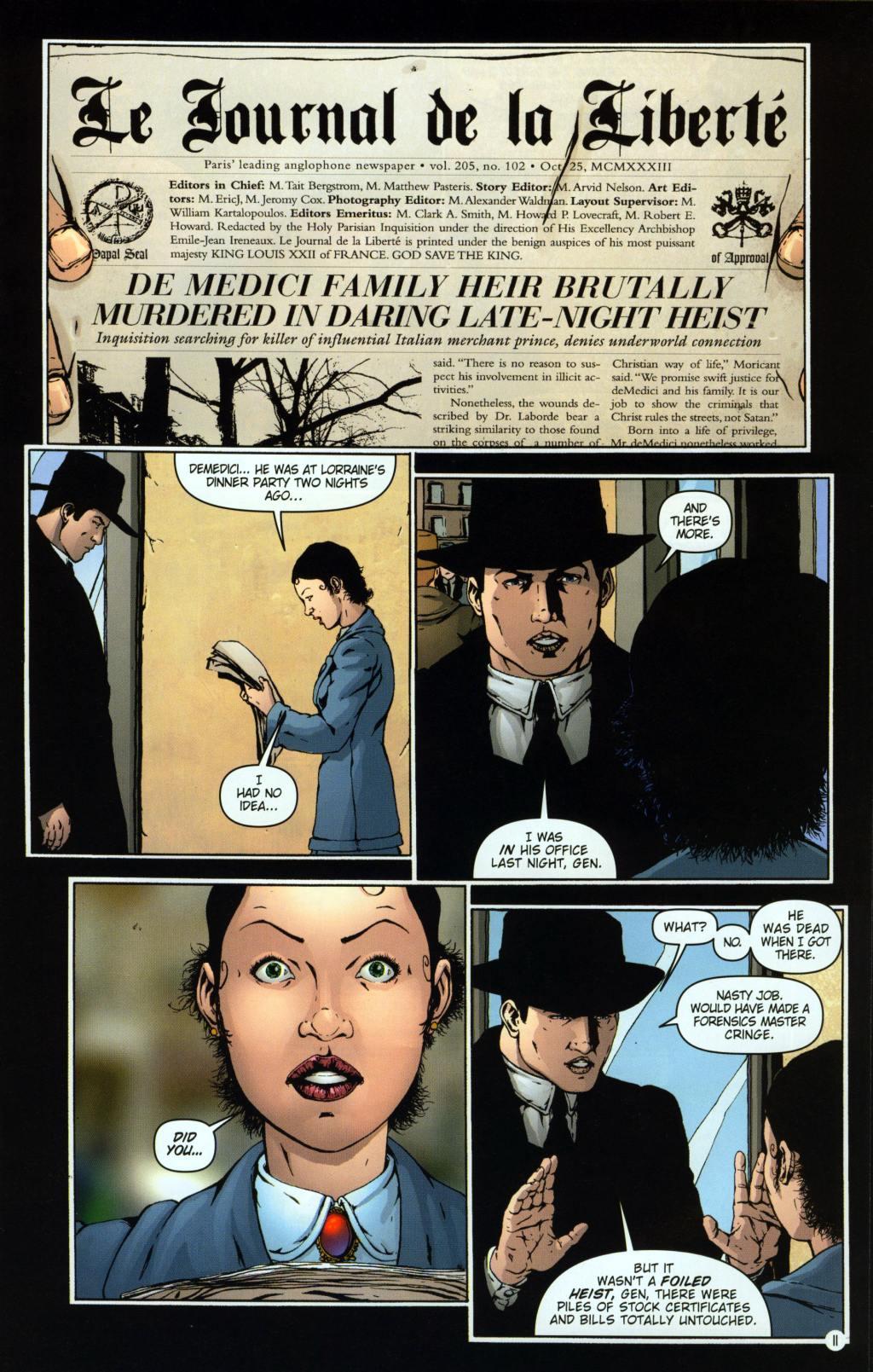 Read online Rex Mundi comic -  Issue #8 - 15