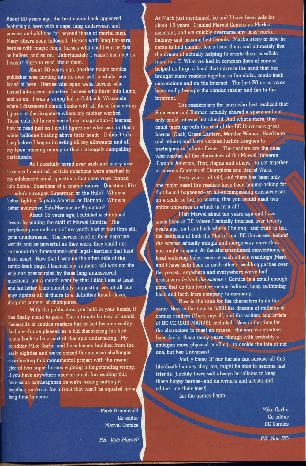 Read online DC Versus Marvel Comics comic -  Issue #1 - 35