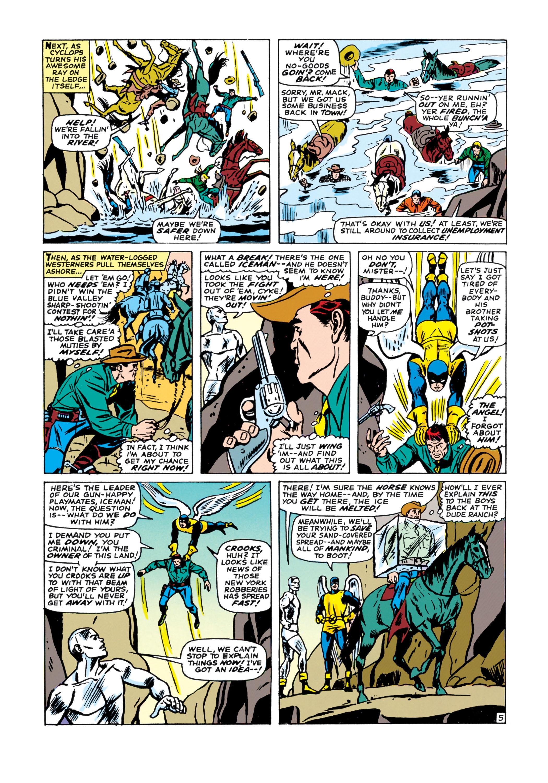 Read online Uncanny X-Men (1963) comic -  Issue #21 - 6