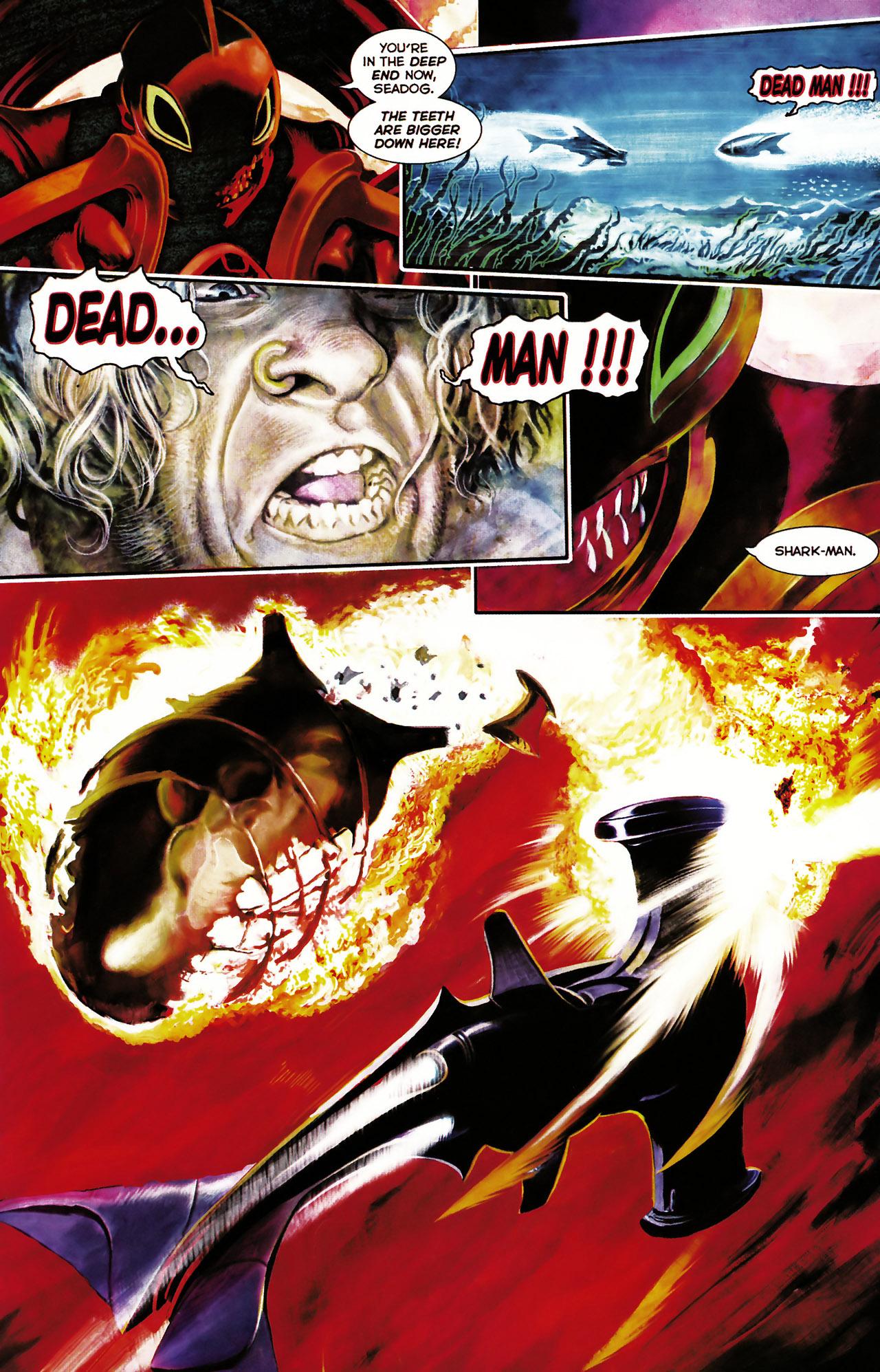 Read online Shark-Man comic -  Issue #1 - 17