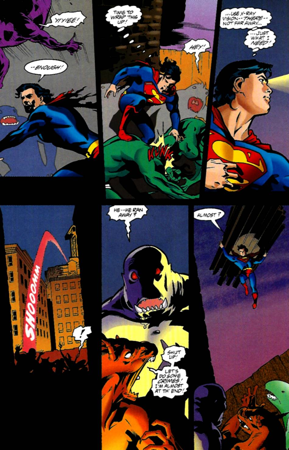 Read online Adventures of Superman (1987) comic -  Issue #534 - 17