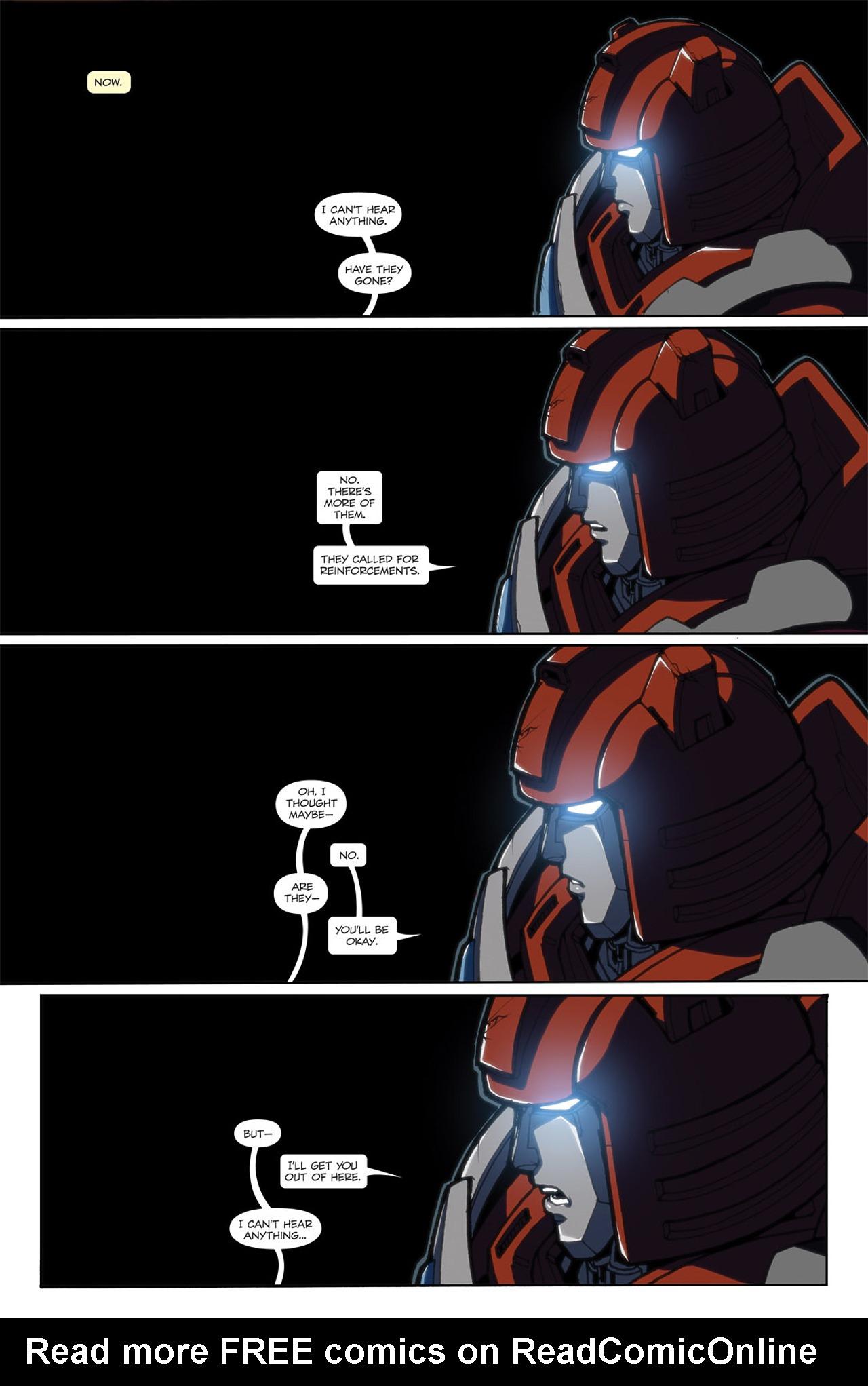 Read online Transformers Spotlight: Cliffjumper comic -  Issue # Full - 5