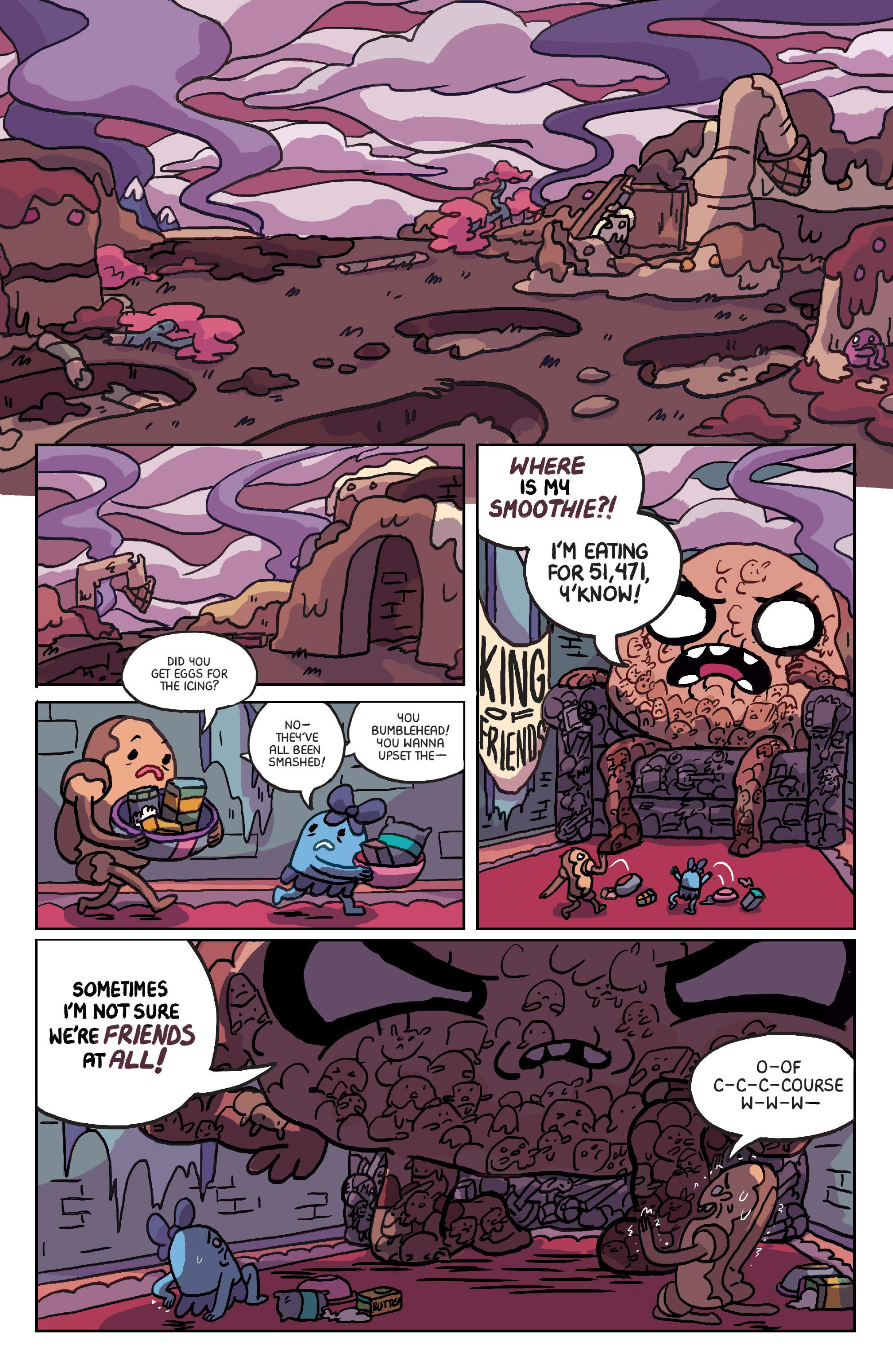 Read online Adventure Time: Marceline Gone Adrift comic -  Issue #6 - 3