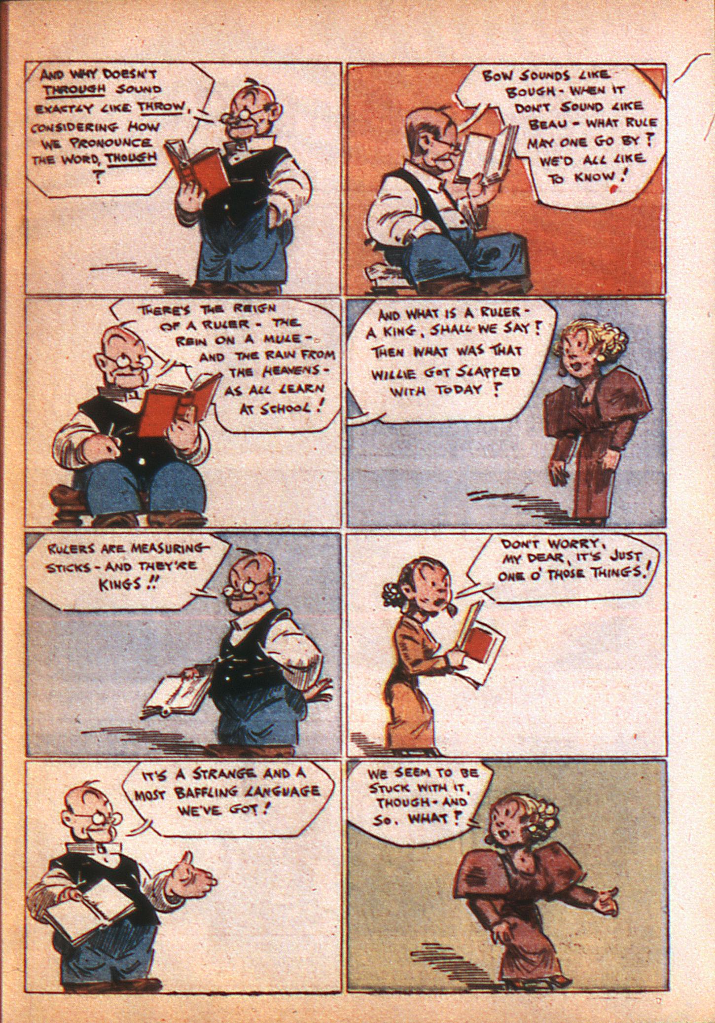 Read online Adventure Comics (1938) comic -  Issue #8 - 10