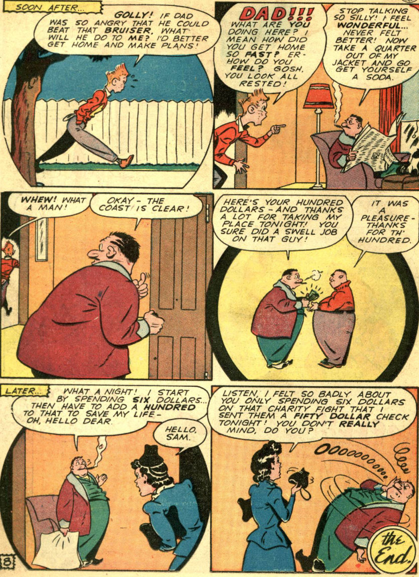 Read online Sensation (Mystery) Comics comic -  Issue #69 - 40