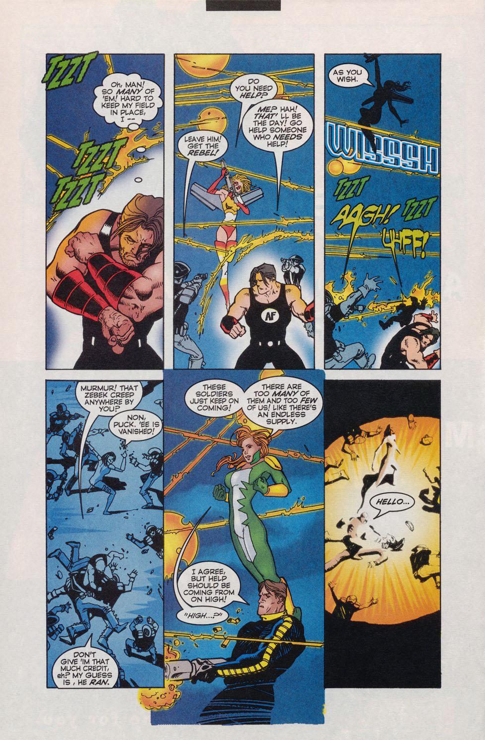 Read online Alpha Flight (1997) comic -  Issue #11 - 5