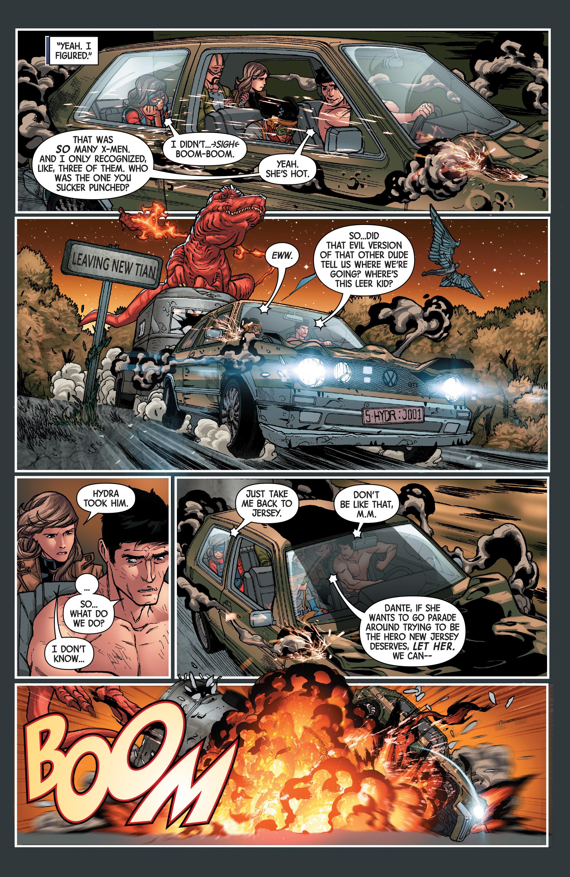 Read online Secret Warriors (2017) comic -  Issue #3 - 22
