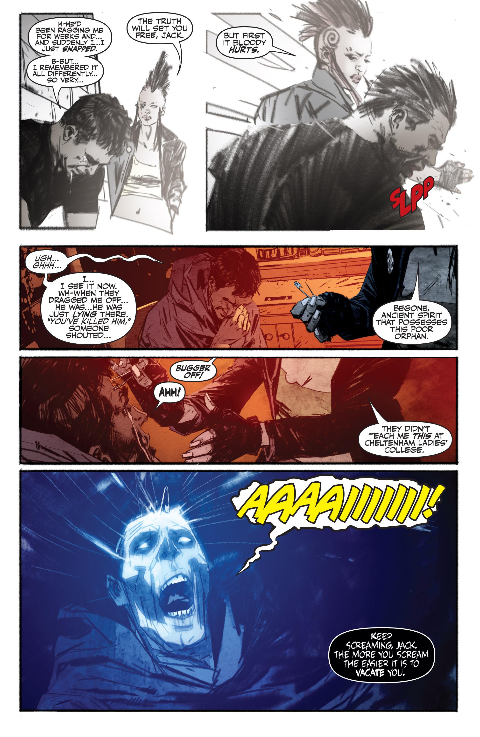 Read online Shadowman (2012) comic -  Issue #13 - 18