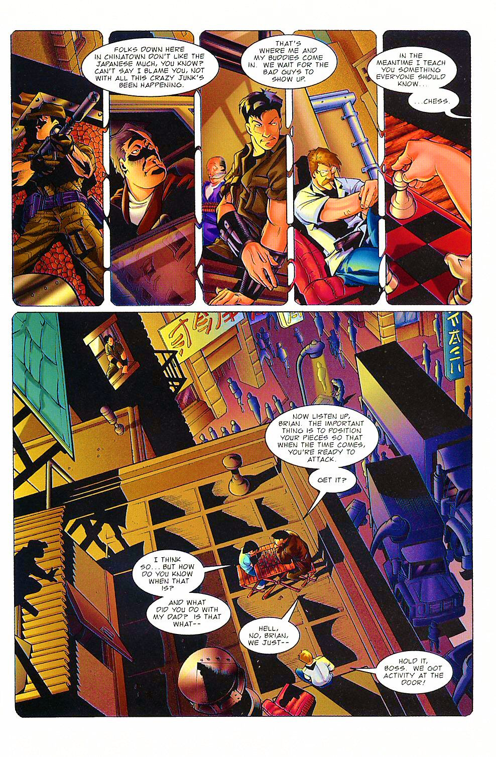 Read online Shi: The Way of the Warrior comic -  Issue #8 - 15