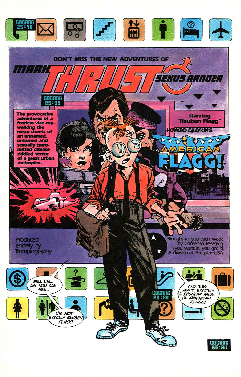 Read online American Flagg! comic -  Issue #46 - 3
