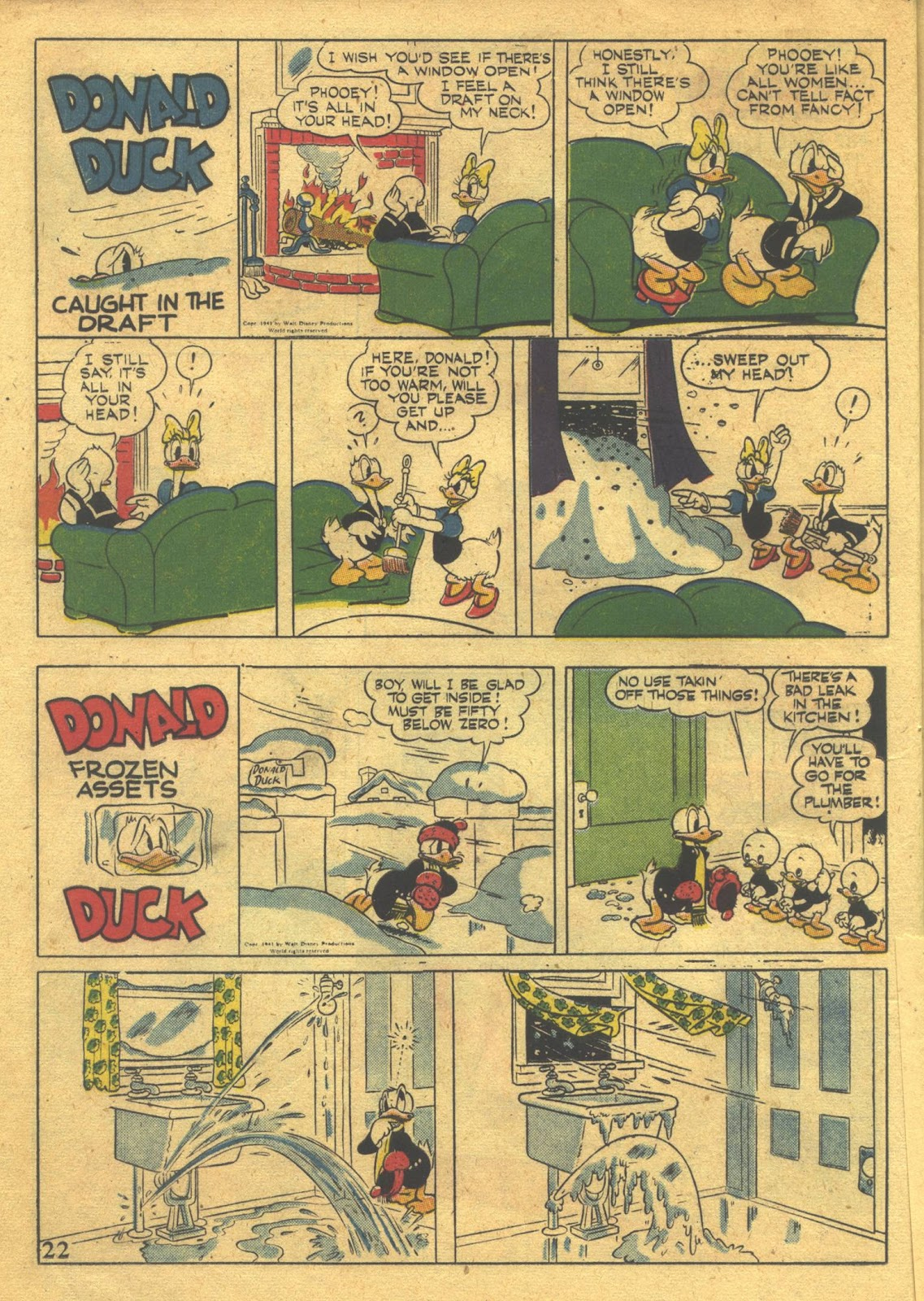 Walt Disney's Comics and Stories issue 39 - Page 24