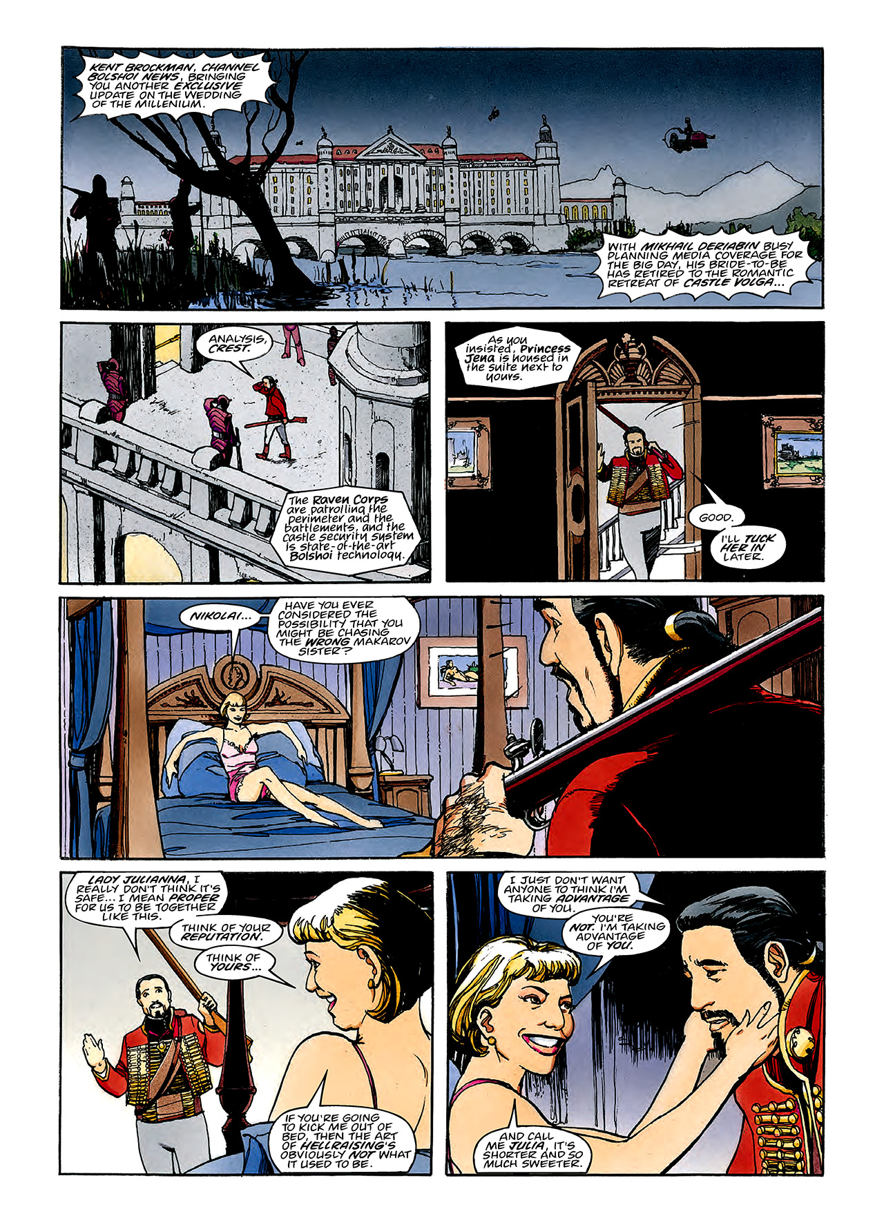 Read online Nikolai Dante comic -  Issue # TPB 3 - 70