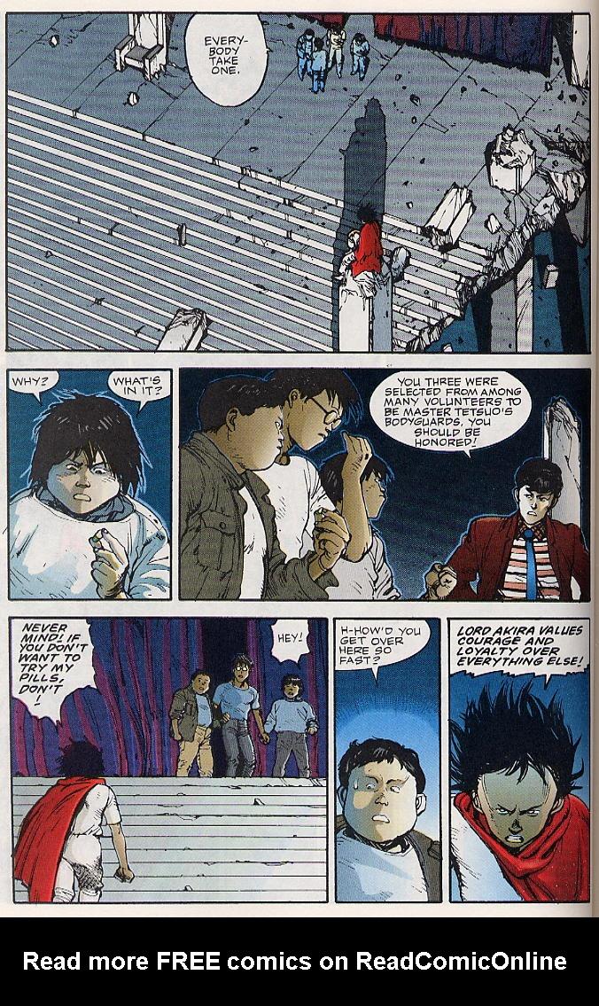 Read online Akira comic -  Issue #17 - 51