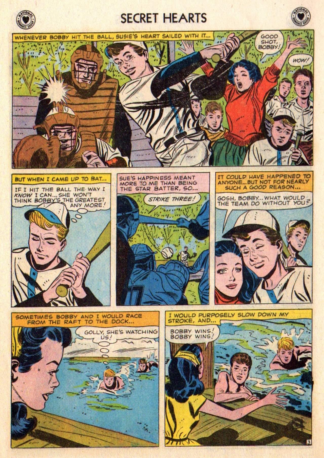 Read online Secret Hearts comic -  Issue #48 - 12