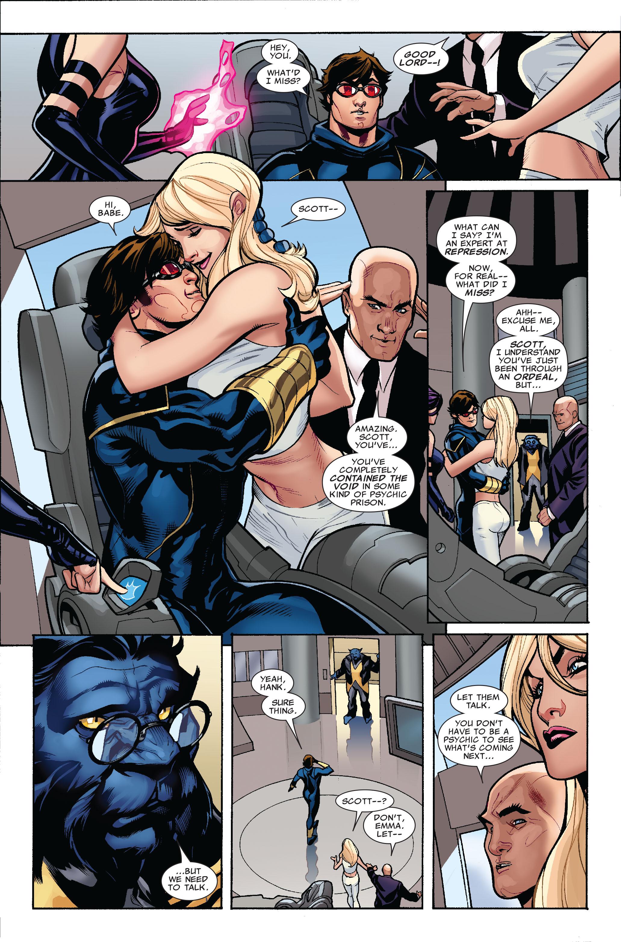 Read online Uncanny X-Men (1963) comic -  Issue #519 - 23