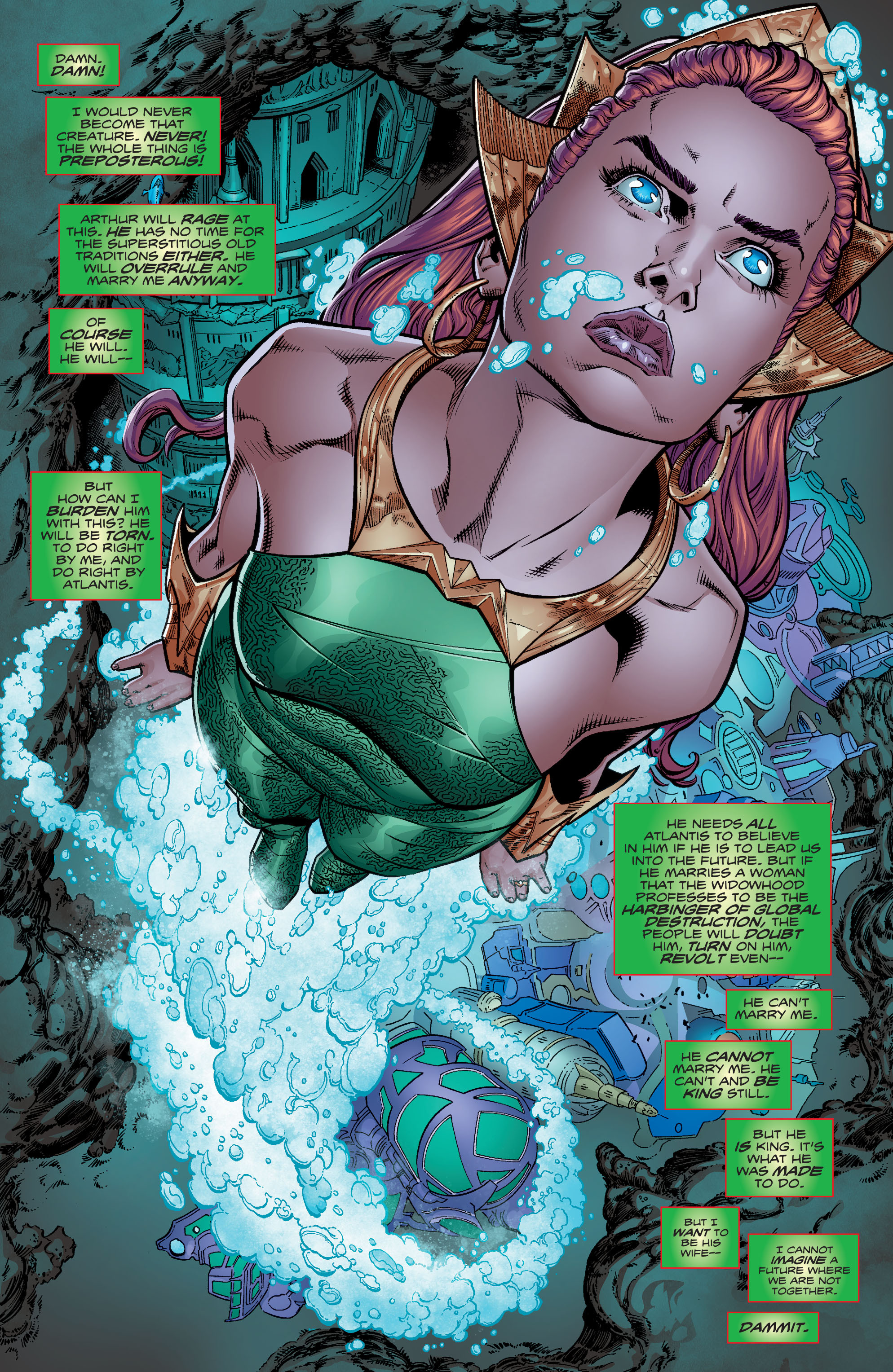Read online Aquaman (2016) comic -  Issue #10 - 10