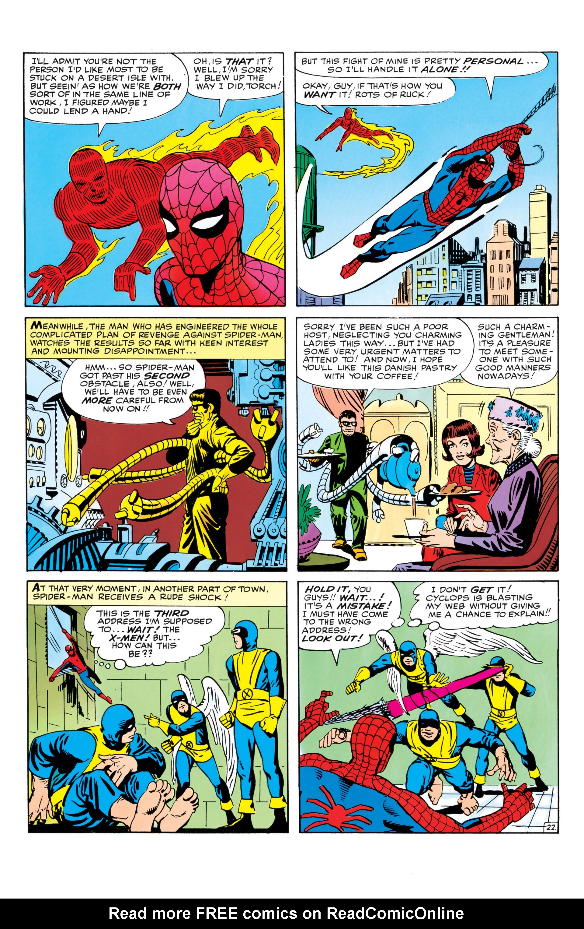 The Amazing Spider-Man (1963) _Annual_1 Page 22