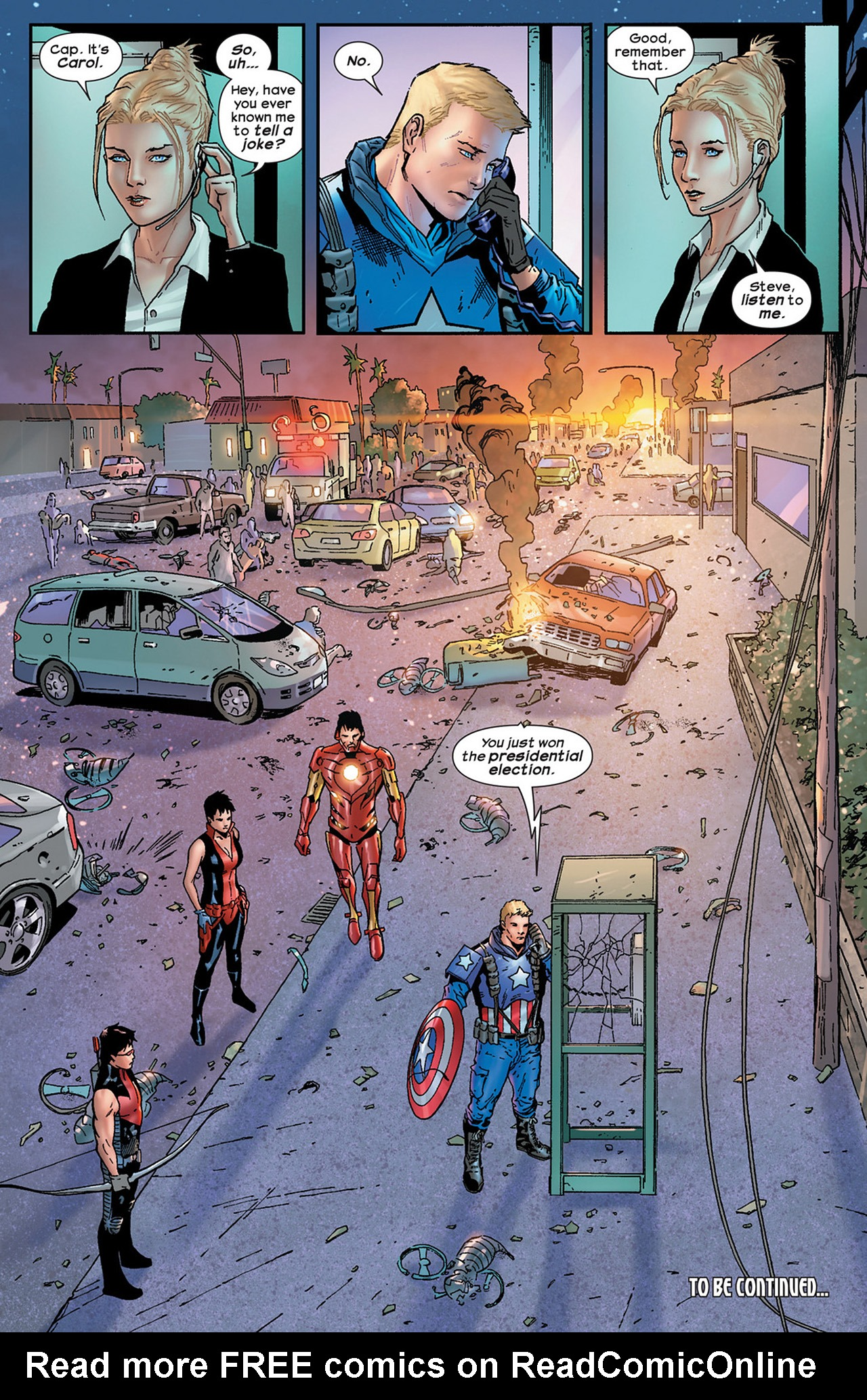 Read online Ultimate Comics Ultimates comic -  Issue #15 - 23