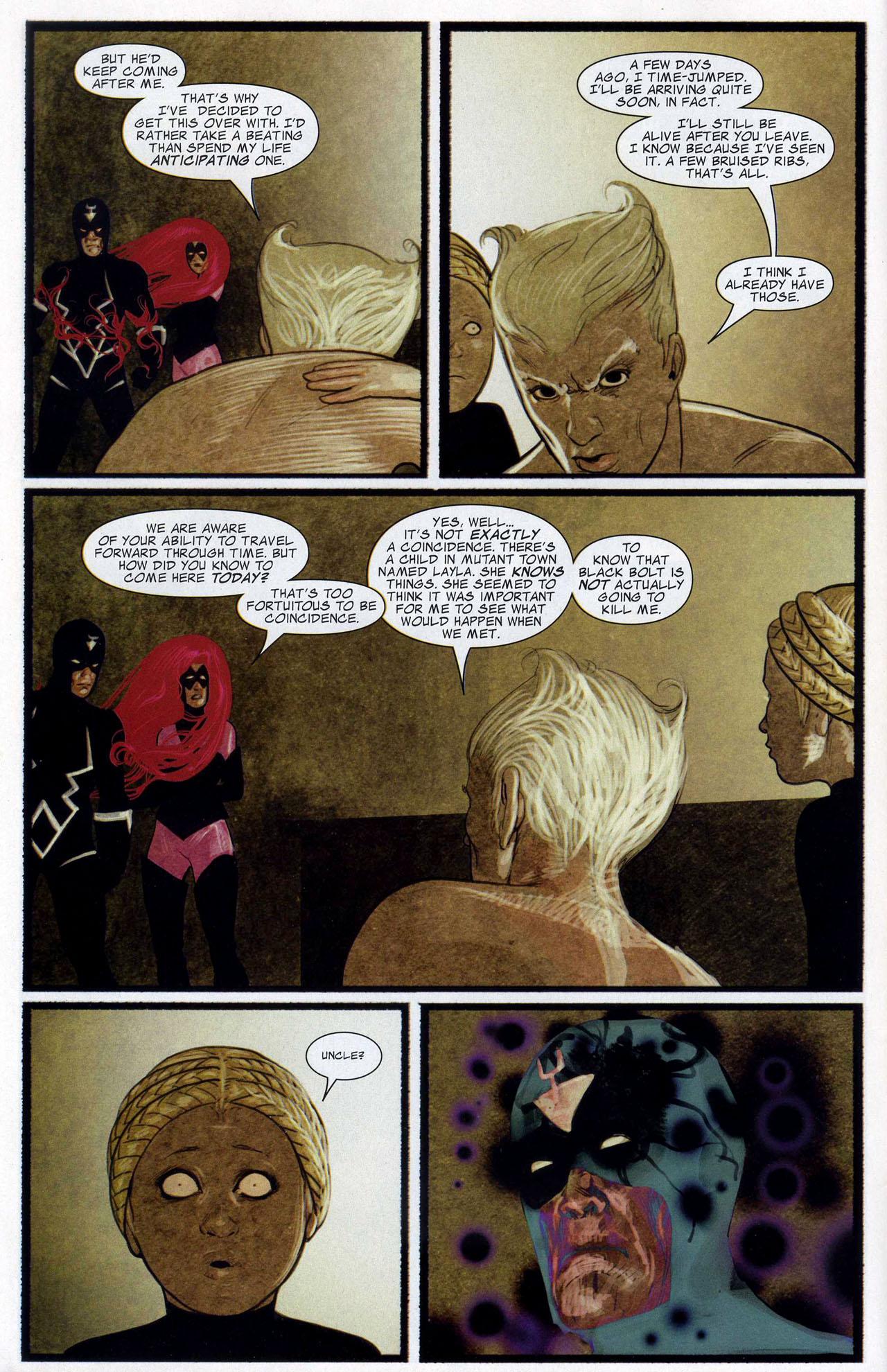 Read online Silent War comic -  Issue #3 - 8