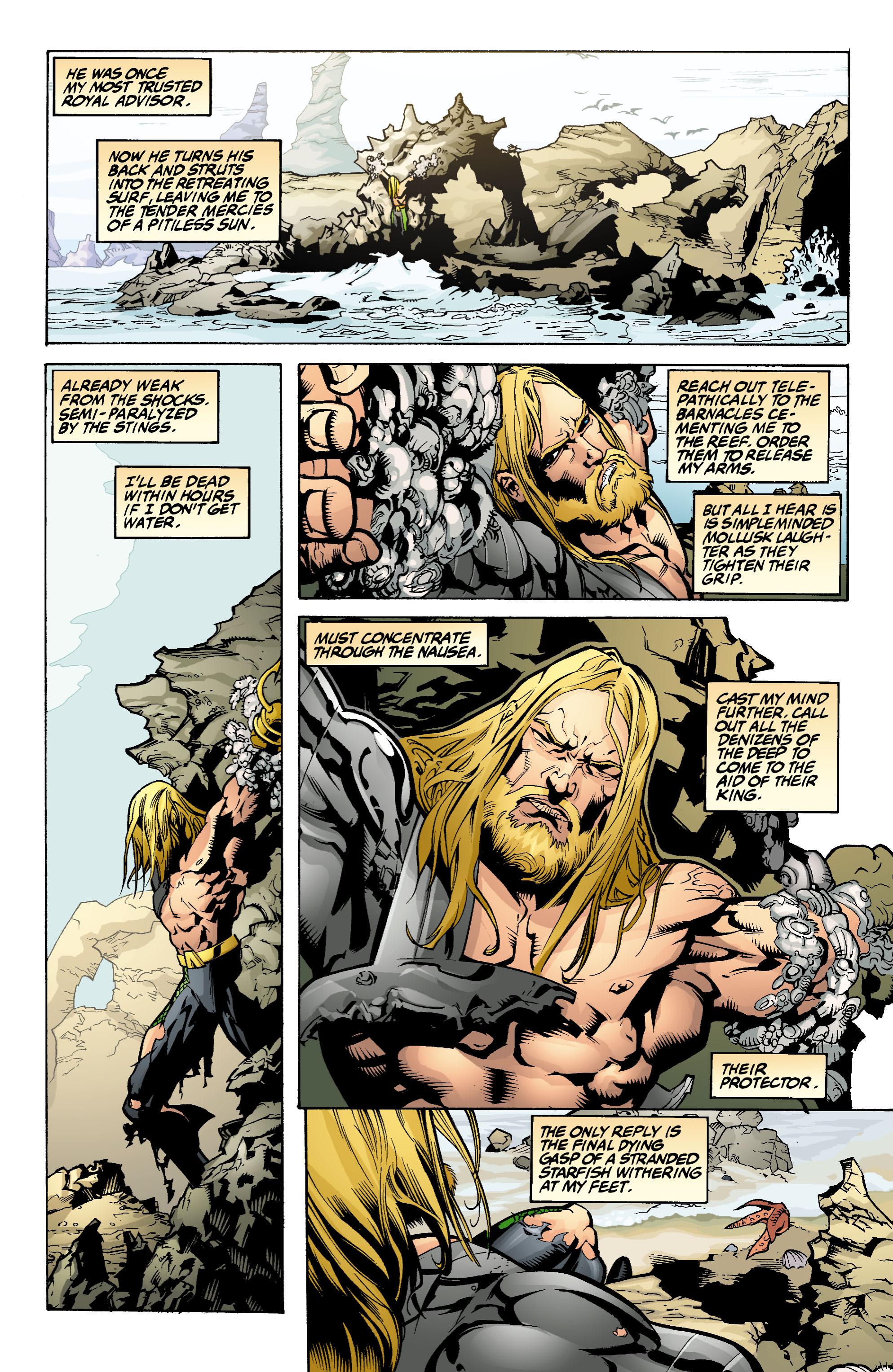 Read online Aquaman (2003) comic -  Issue #1 - 8