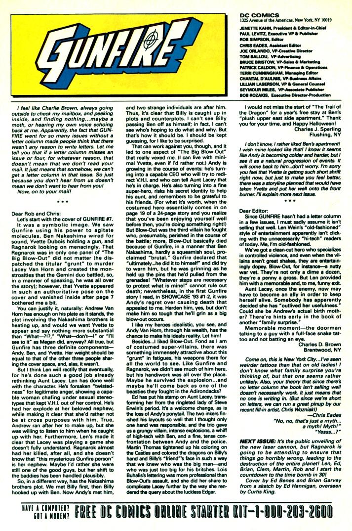 Read online Gunfire comic -  Issue #11 - 32