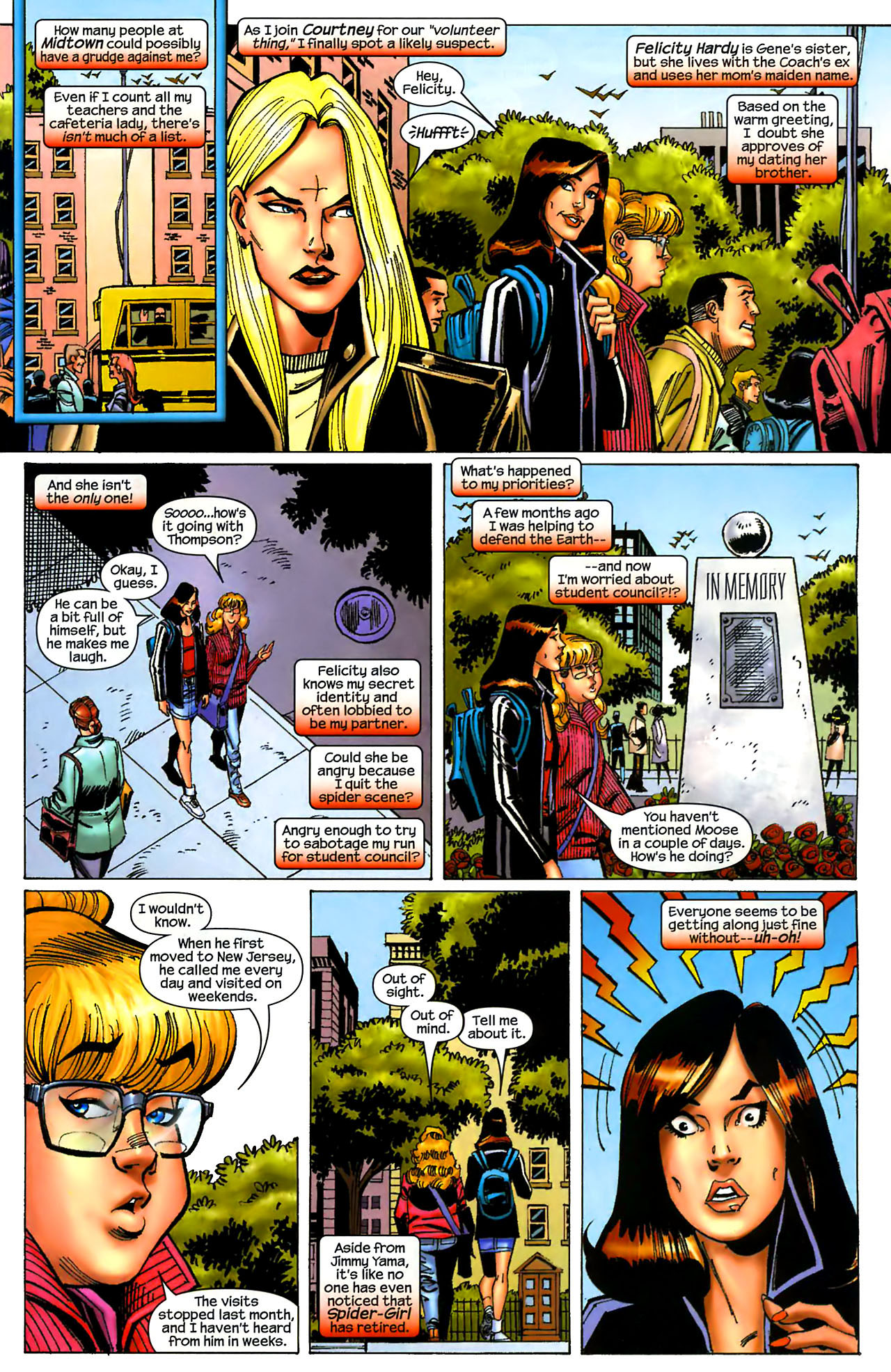 Read online Amazing Spider-Girl comic -  Issue #1 - 9