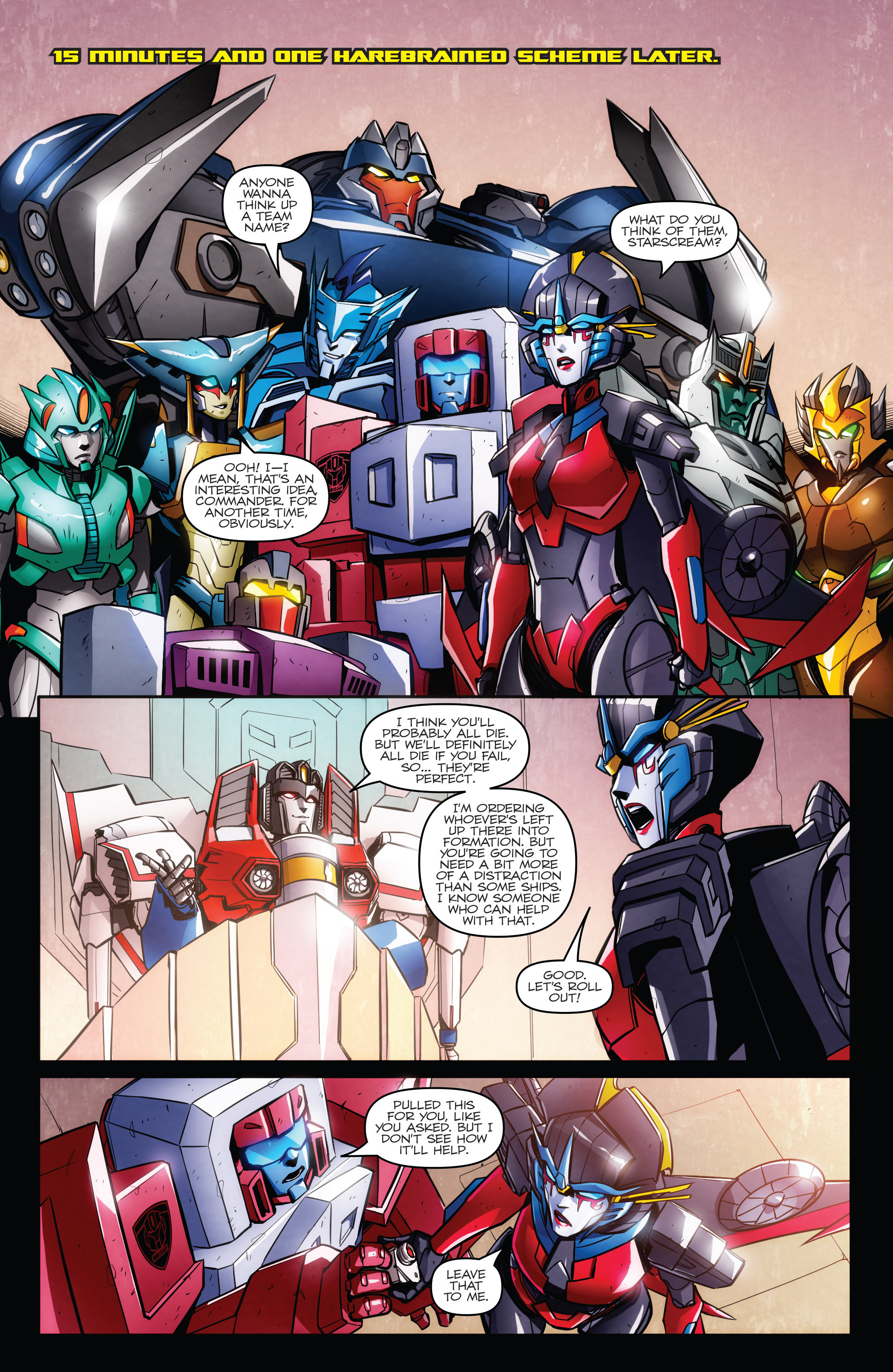 Read online Transformers: Till All Are One comic -  Issue #6 - 20