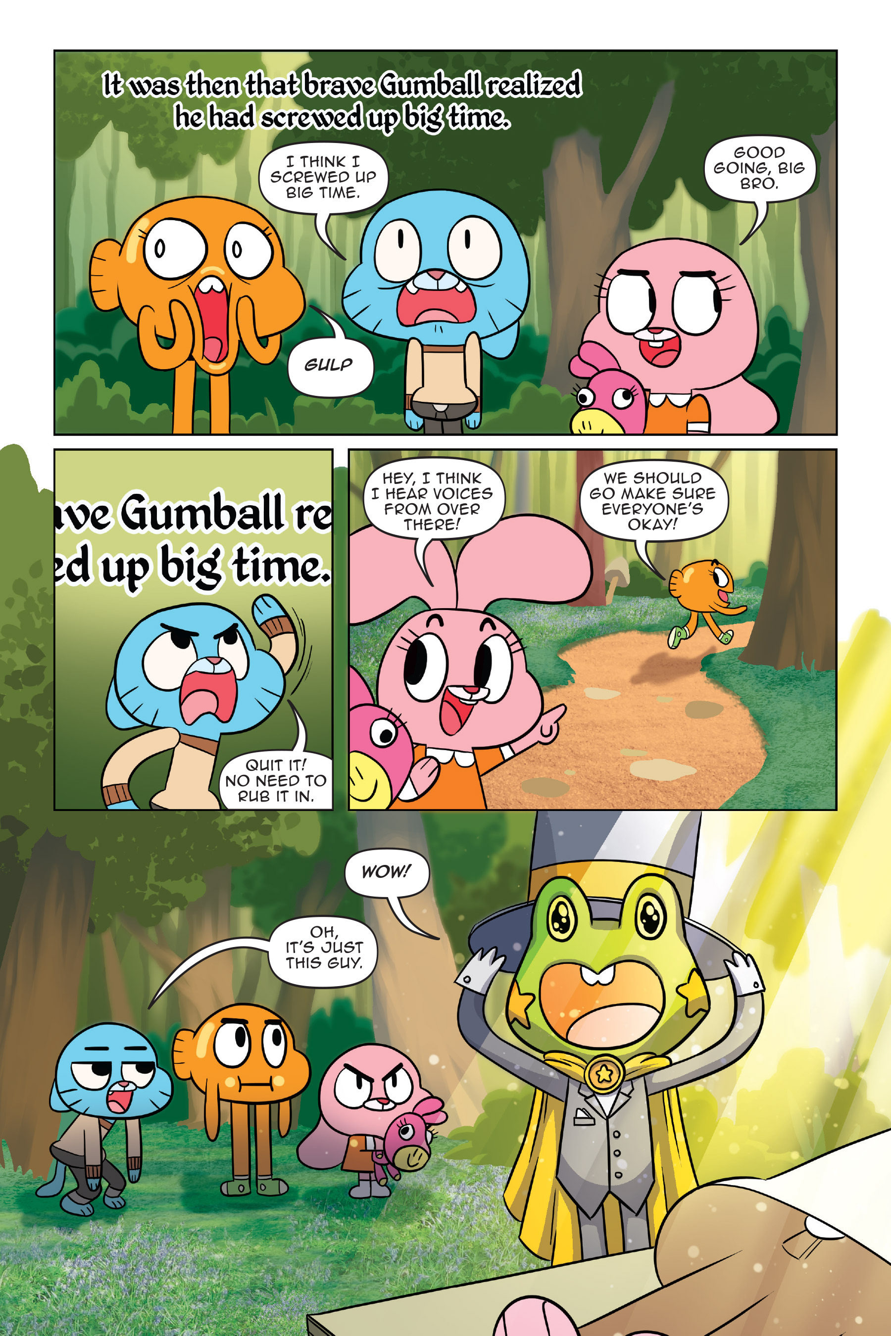 Read online The Amazing World of Gumball: Fairy Tale Trouble comic -  Issue # Full - 31