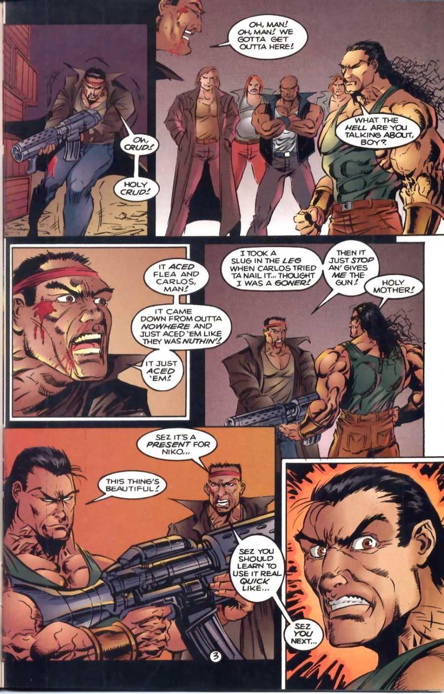 Read online Ultraverse Premiere comic -  Issue #1 - 16
