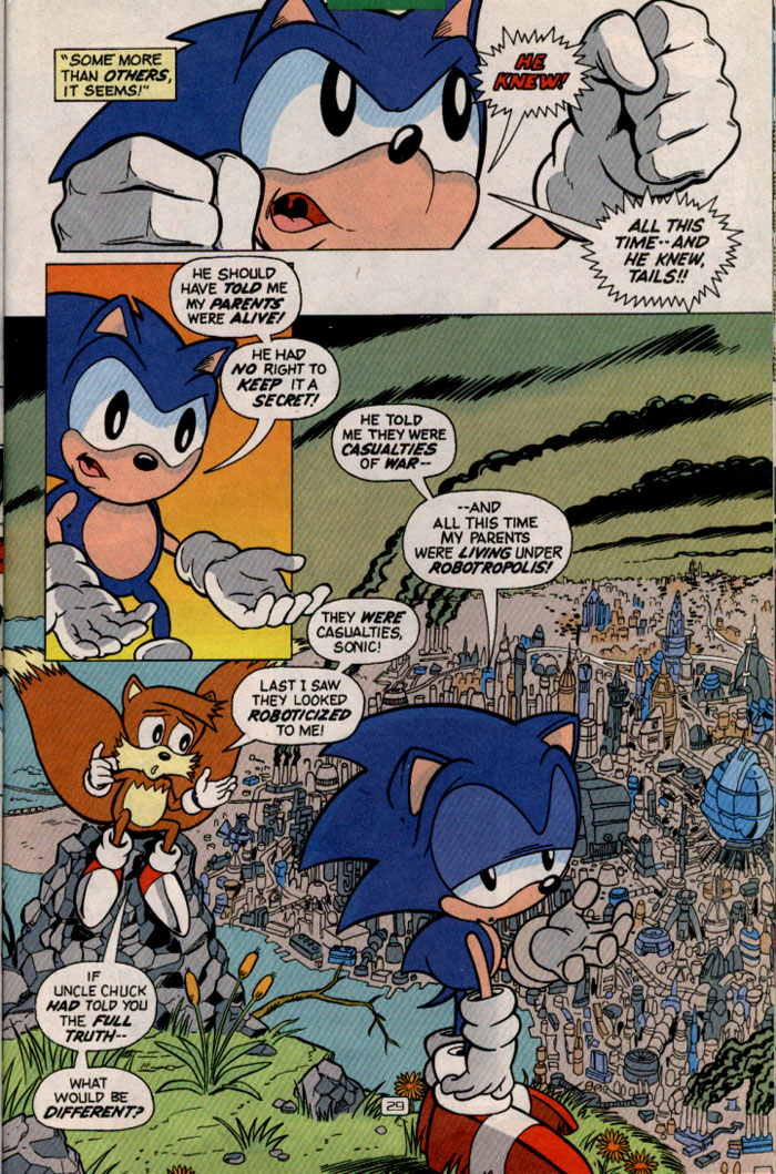 Read online Sonic Super Special comic -  Issue #2 - Brave new world - 31