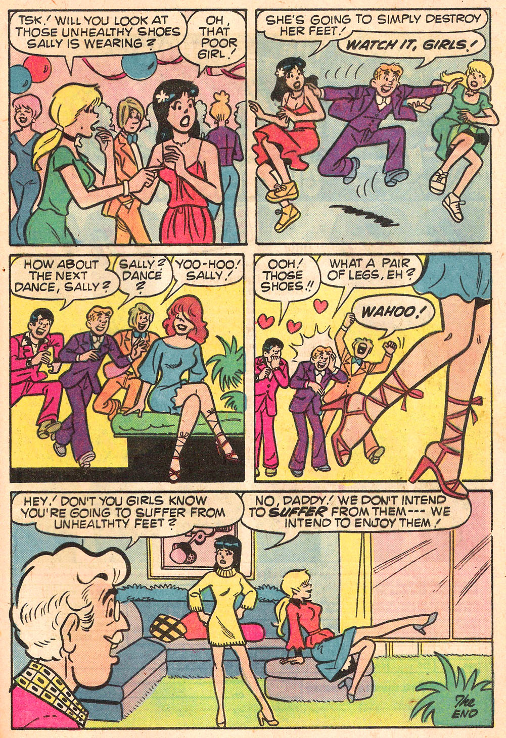 Read online Archie's Girls Betty and Veronica comic -  Issue #268 - 33