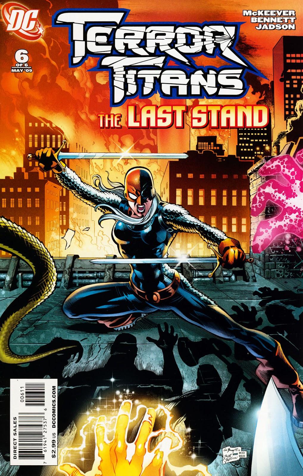 Terror Titans issue 6 - Page 1