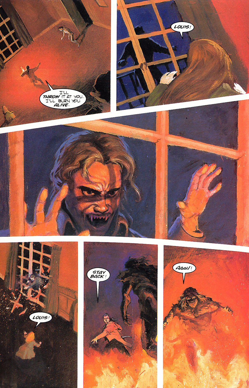 Read online Anne Rice's Interview with the Vampire comic -  Issue #6 - 6