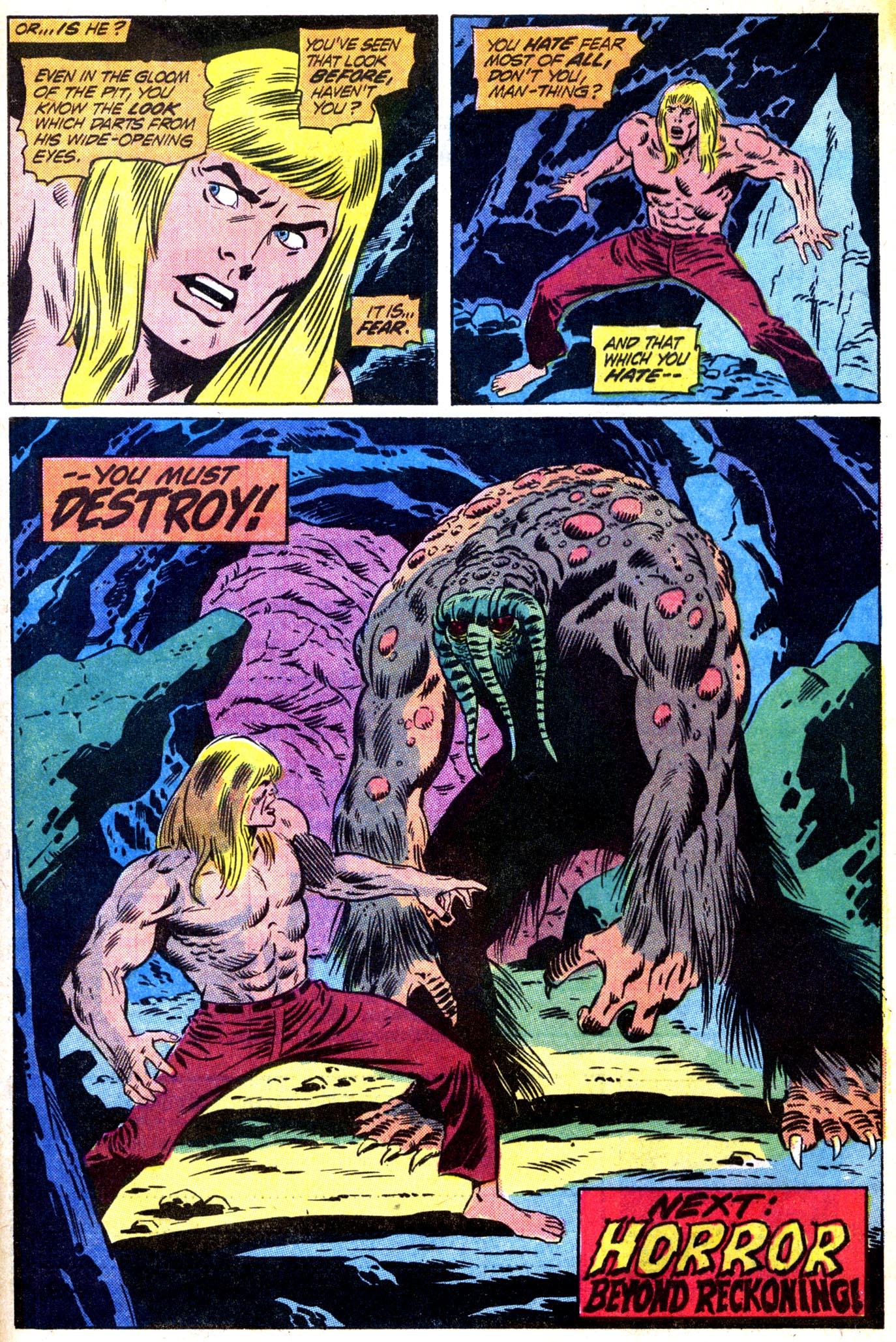 Read online Astonishing Tales (1970) comic -  Issue #12 - 22