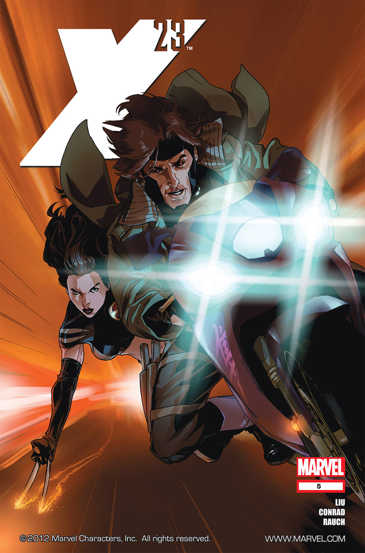 Read online X-23 (2010) comic -  Issue #5 - 1