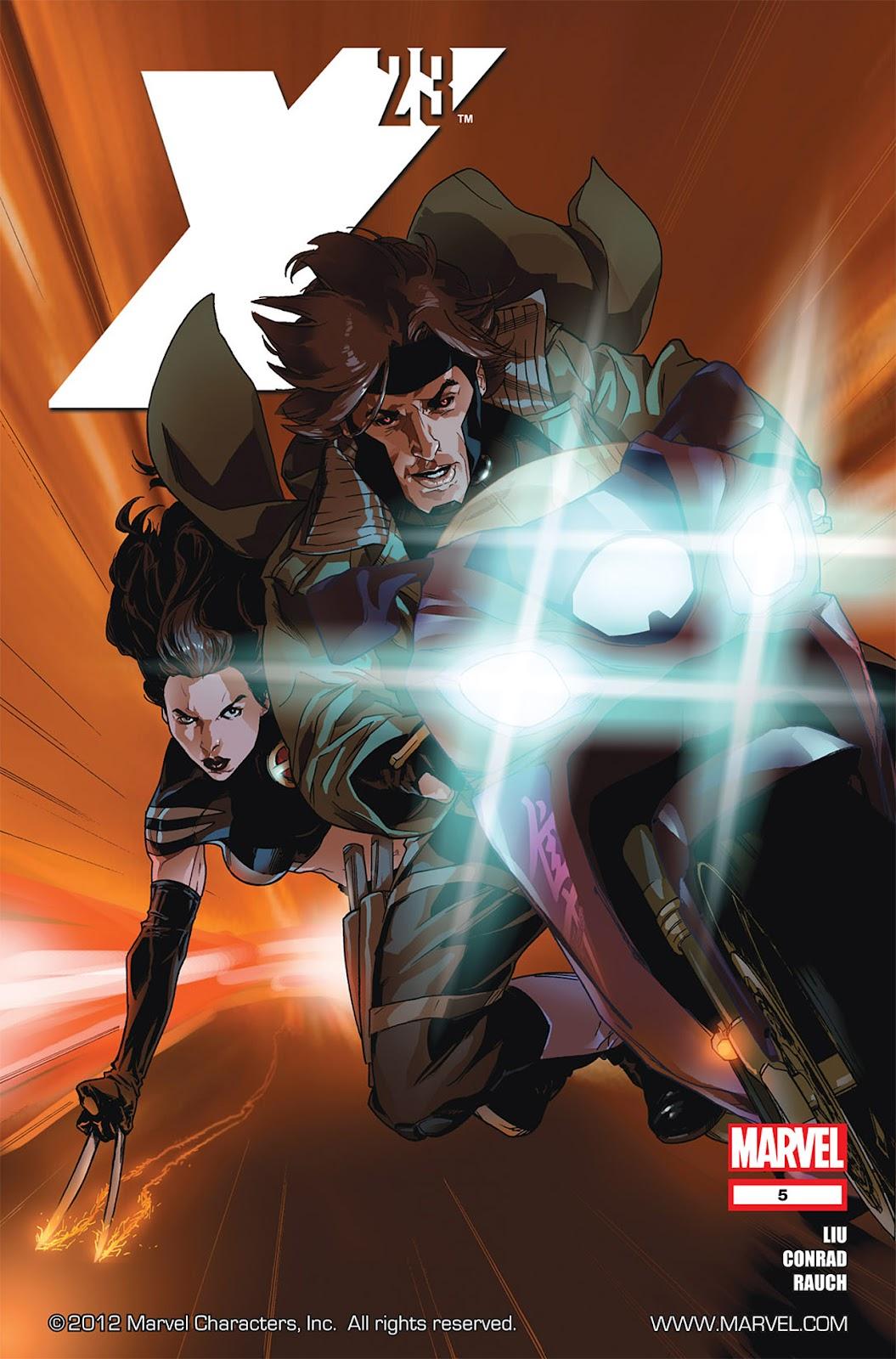 X-23 (II) 5 Page 1