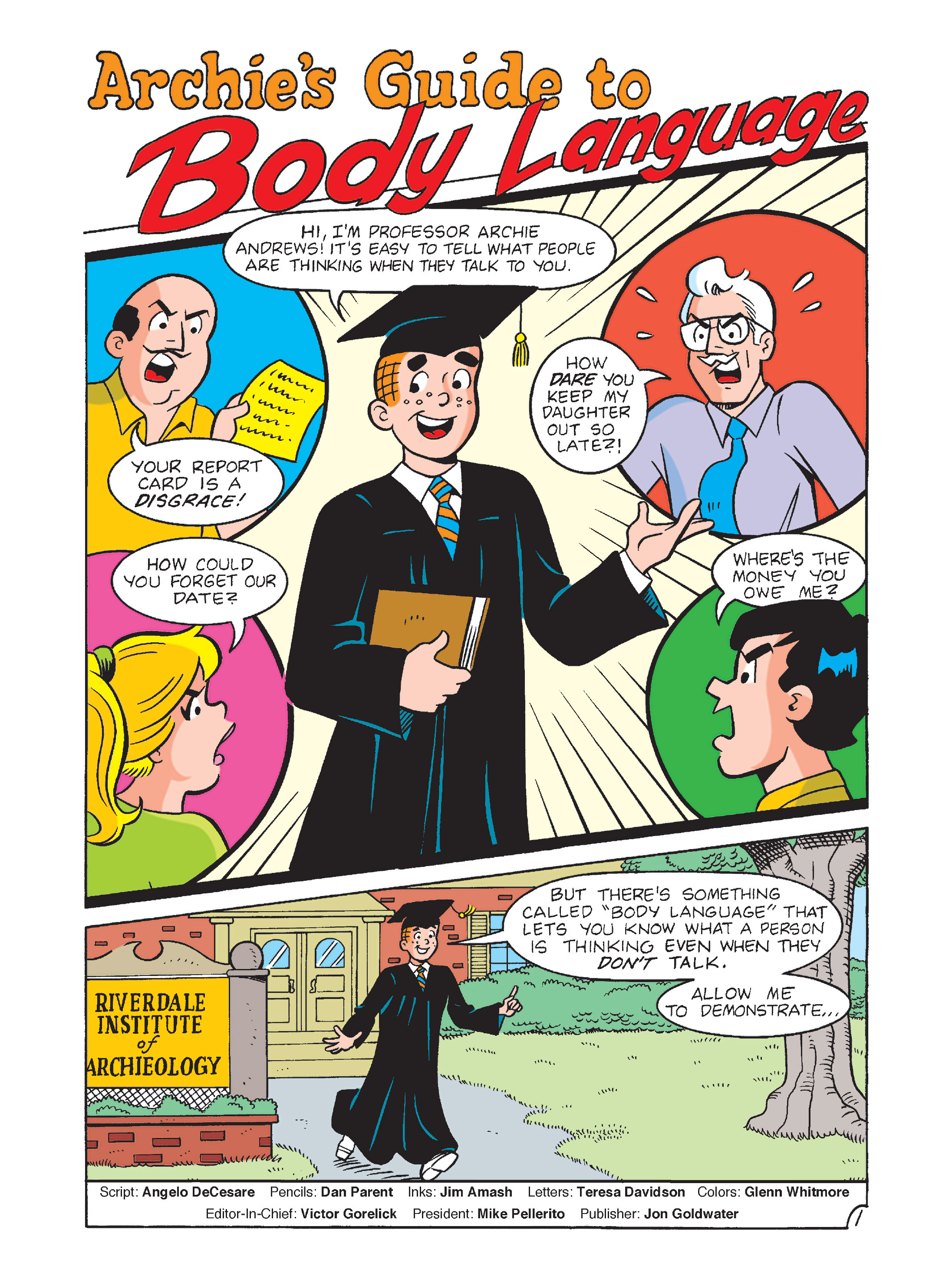 Read online Archie's Funhouse Double Digest comic -  Issue #8 - 2