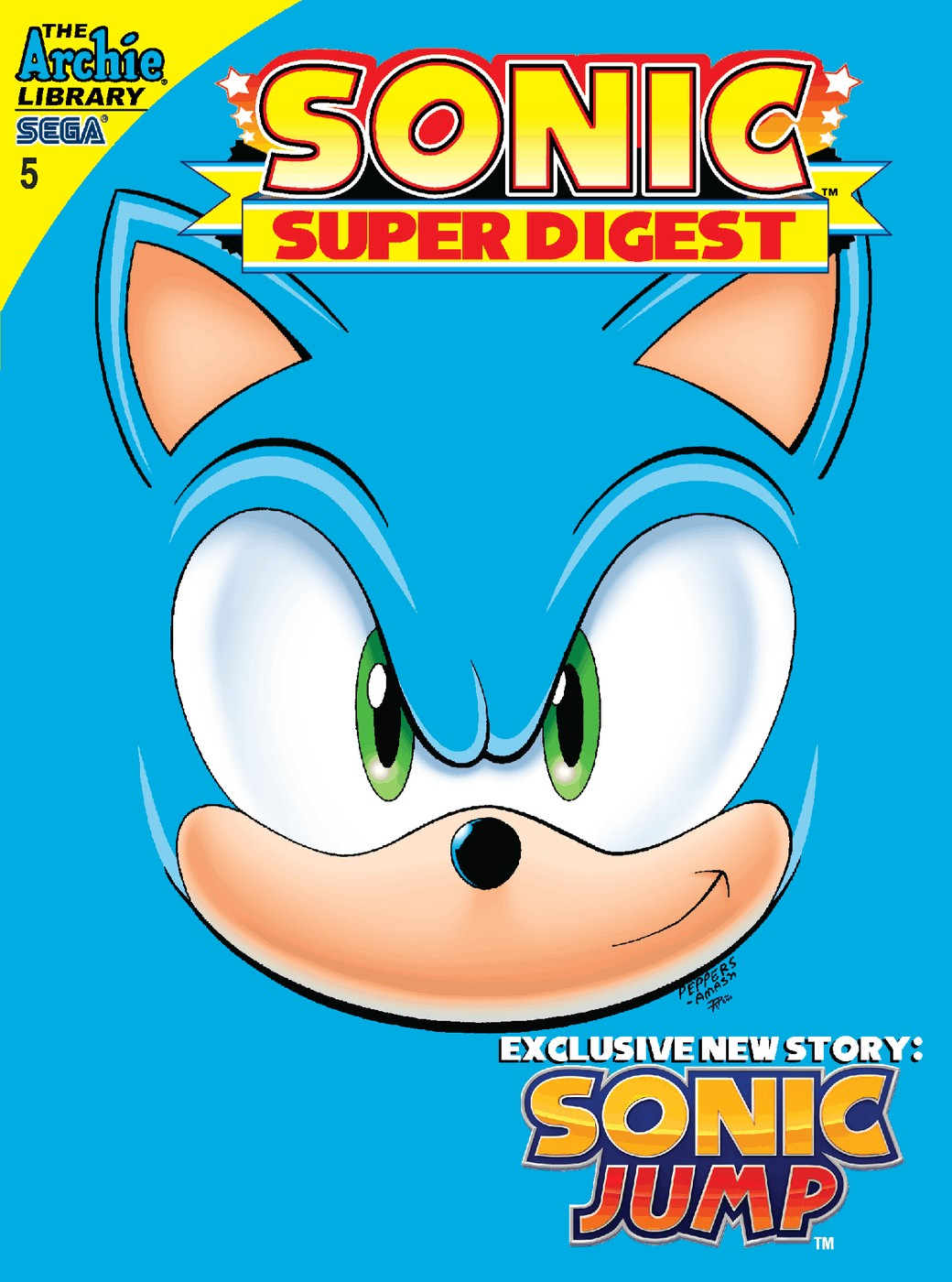 Sonic Super Digest 5 Page 1