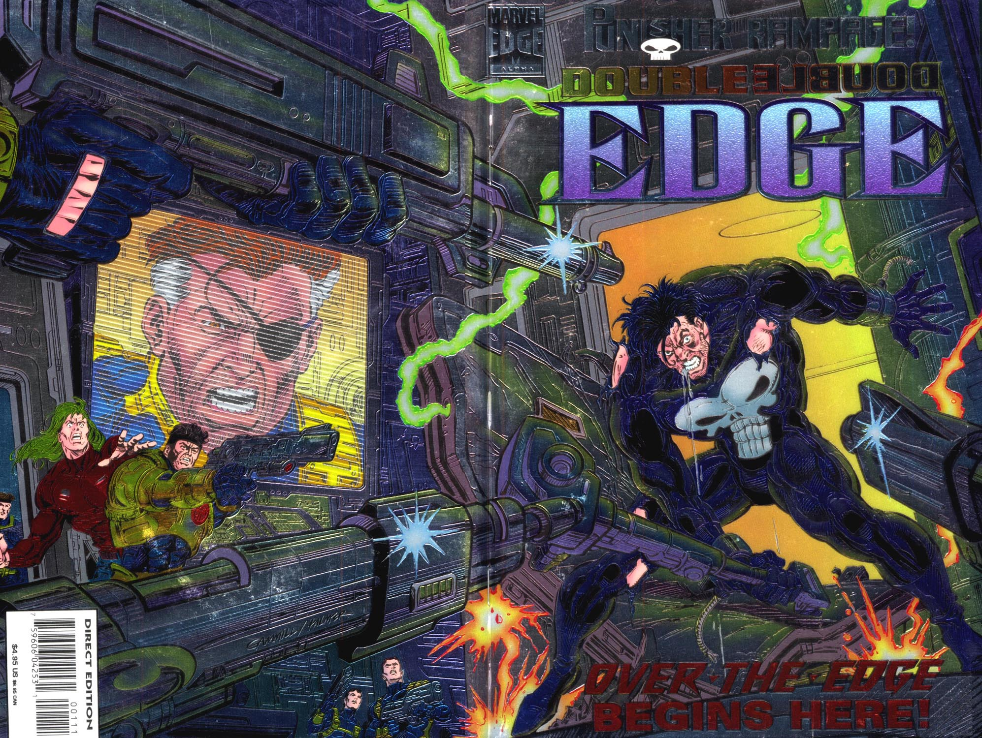 Read online Double Edge comic -  Issue # Issue Alpha - 1
