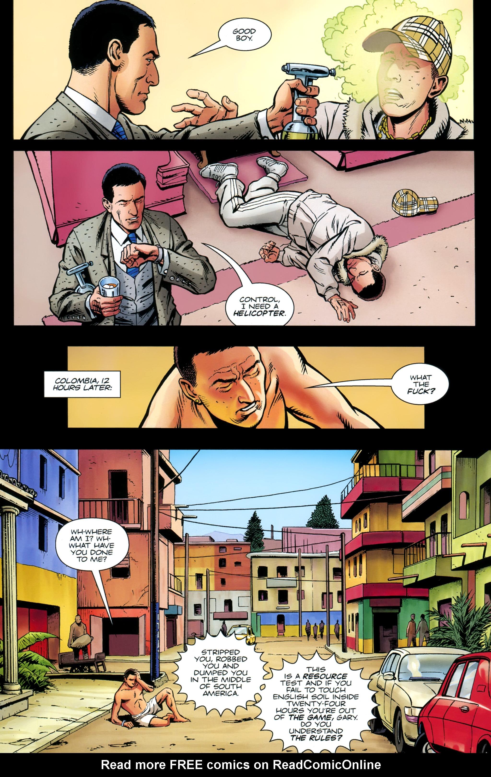 Read online Secret Service comic -  Issue #4 - 9